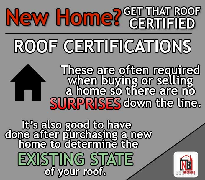 Roof Certifications